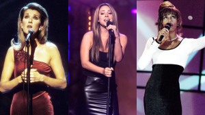 Celine Dion, Mariah Carey & Whitney Houston. Raising caterwauling to an art form.