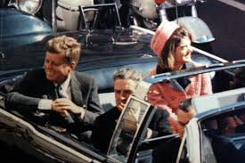 President & Mrs. Kennedy moments before his assassination.